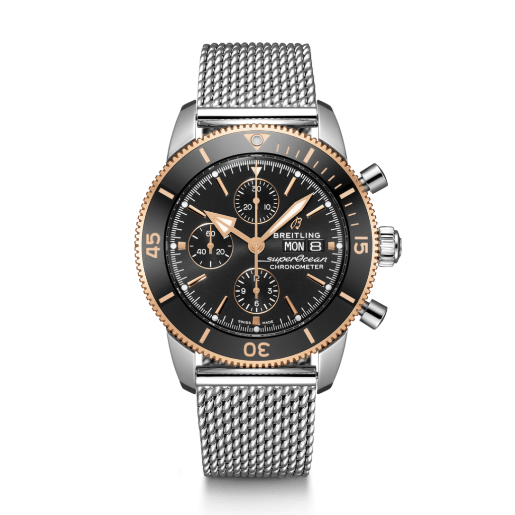 Breitling – Superocean Heritage Chronograph 44 Stahl/ Gold