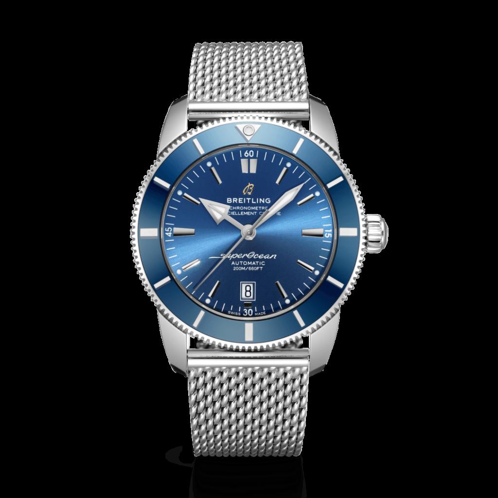 Breitling – Superocean Heritage II 46 Stahl – Blue Ring