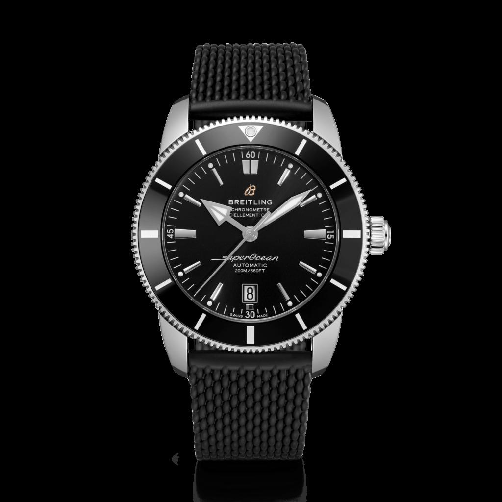 Breitling – Superocean Heritage II 46 Stahl – Black Ring –