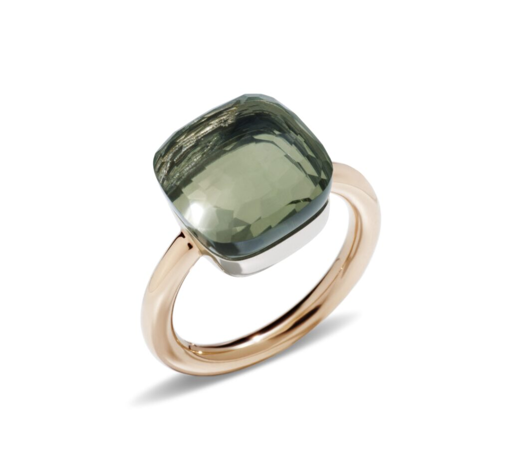 Pomellato – Nudo Maxi Prasiolith Ring
