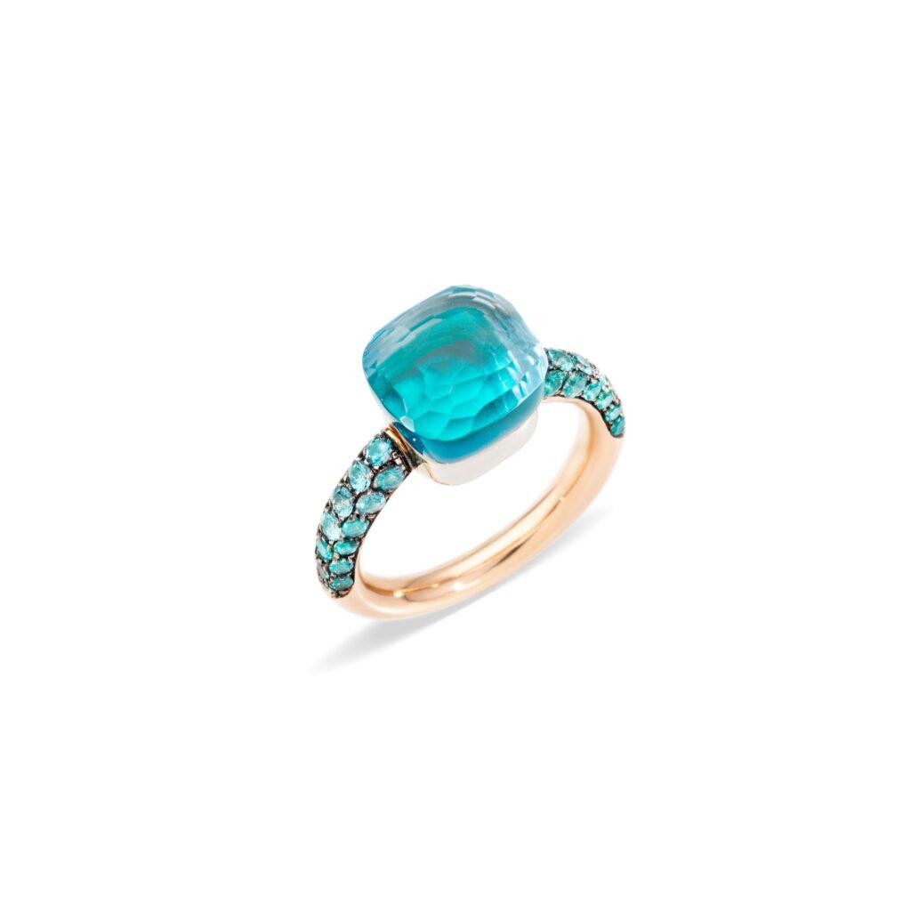 Pomellato – Nudo Ring mit Achat