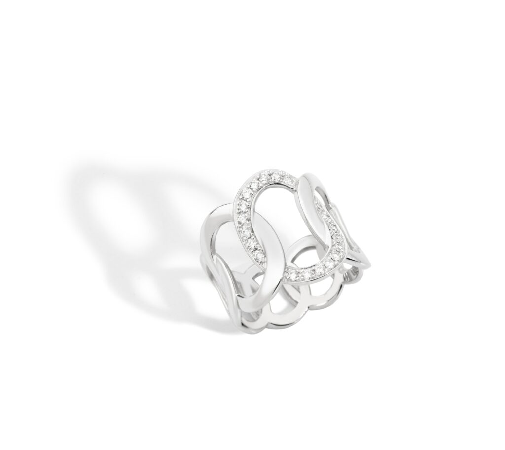 Pomellato – BRERA Ring aus Weißgold
