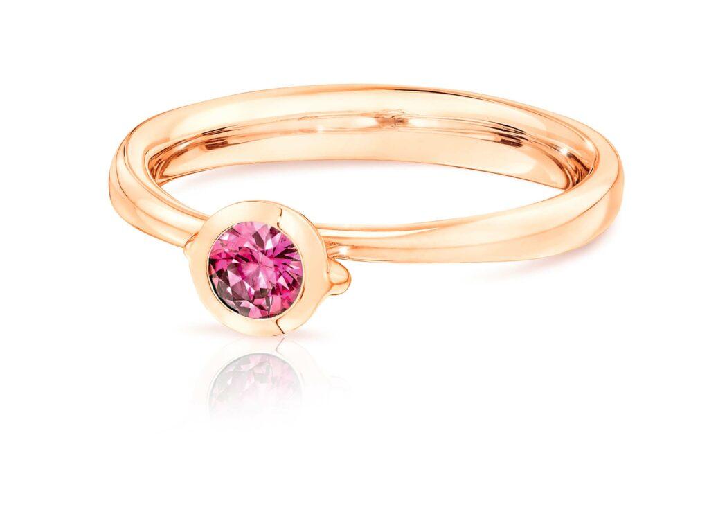 Tamara Comolli – Bouton Solitaire Ring