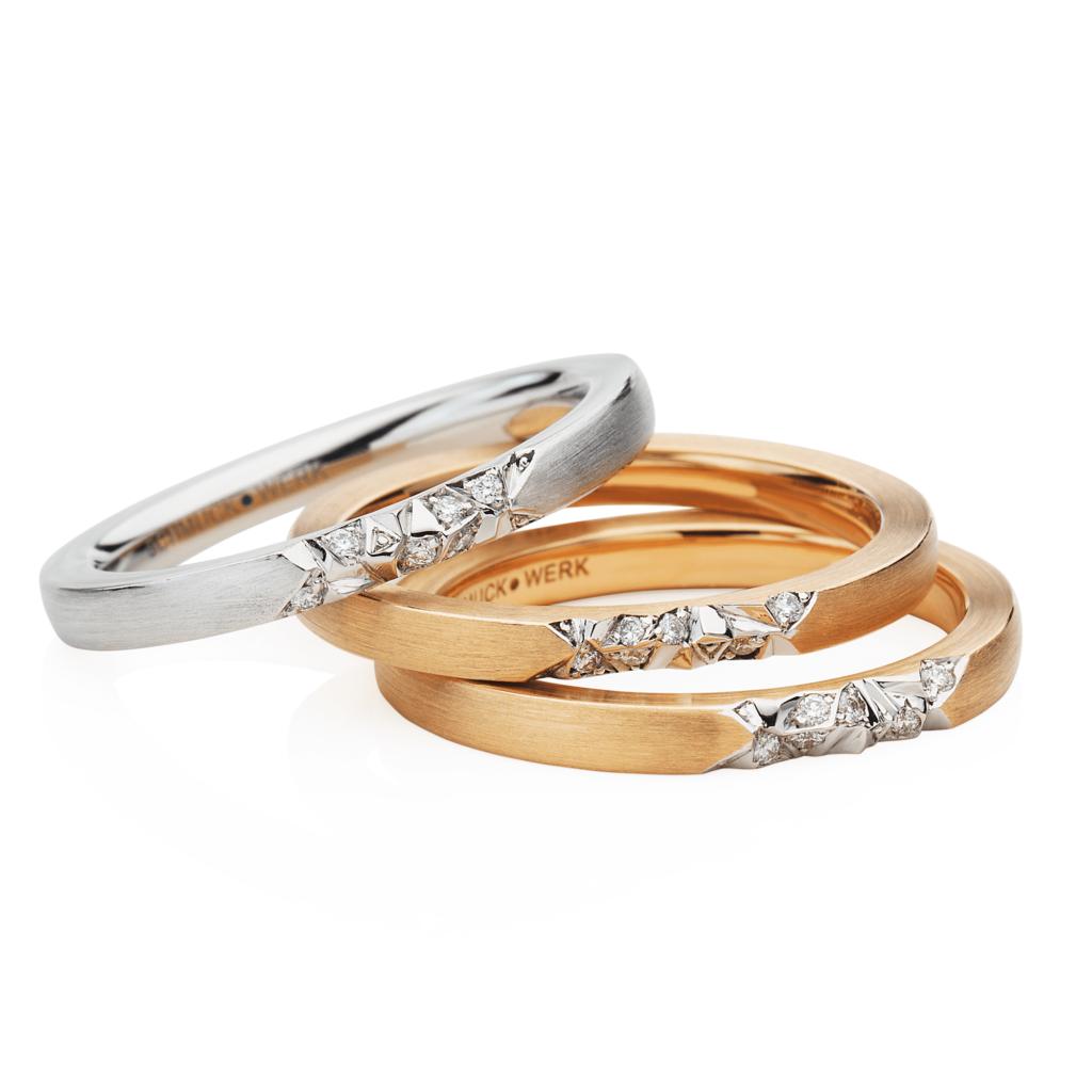 Schmuckwerk – Ring Alpenring Rotgold