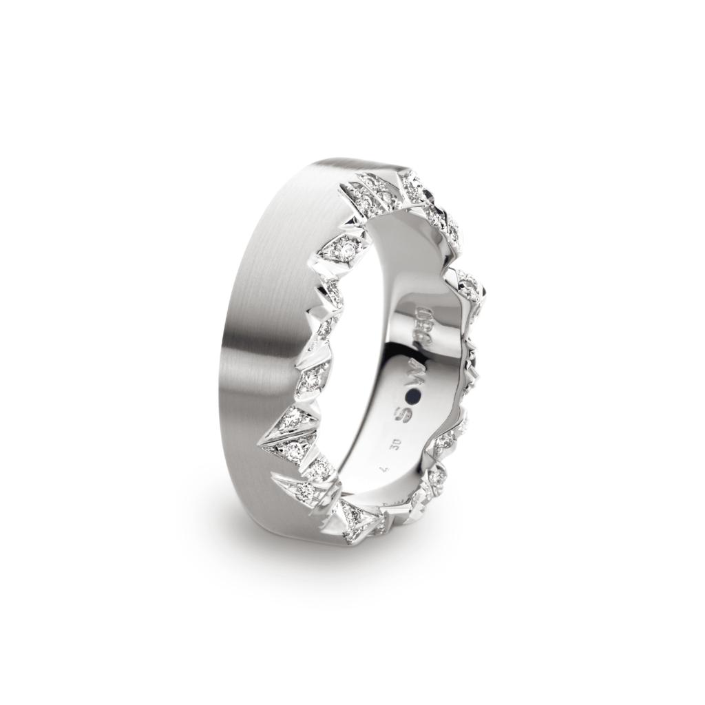 Schmuckwerk – Ring Alpenring Platin