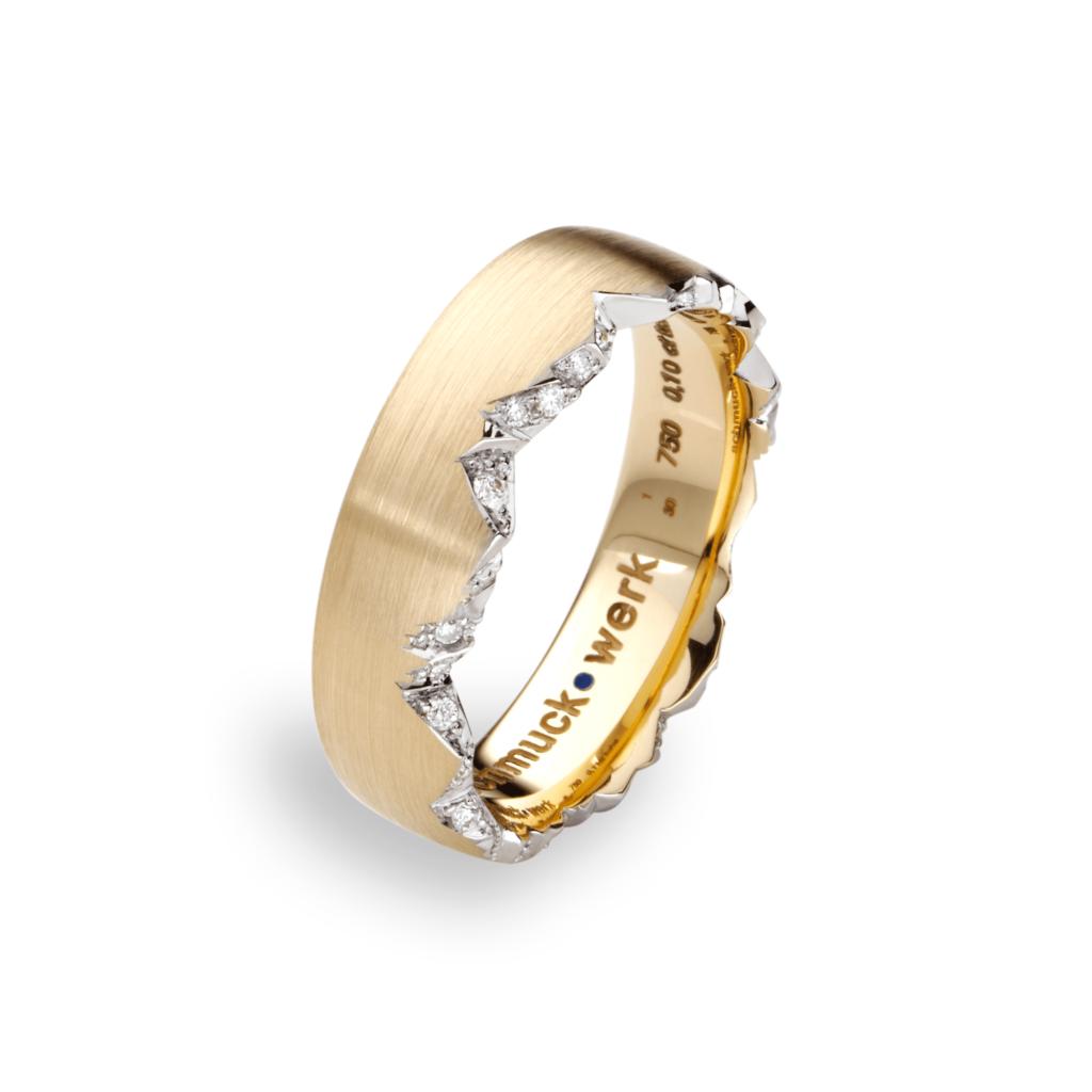 Schmuckwerk – Ring Alpenring Gelbgold