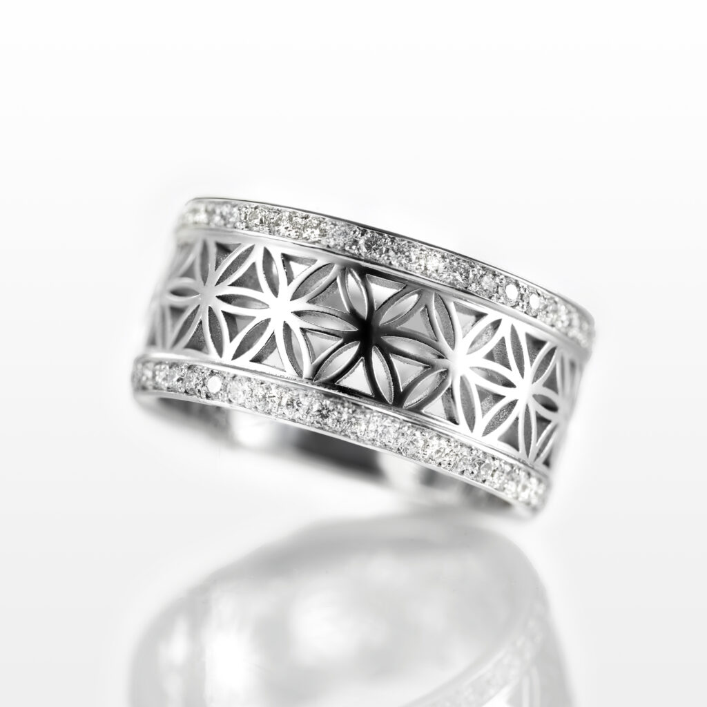 Jasper – Mandala Ring