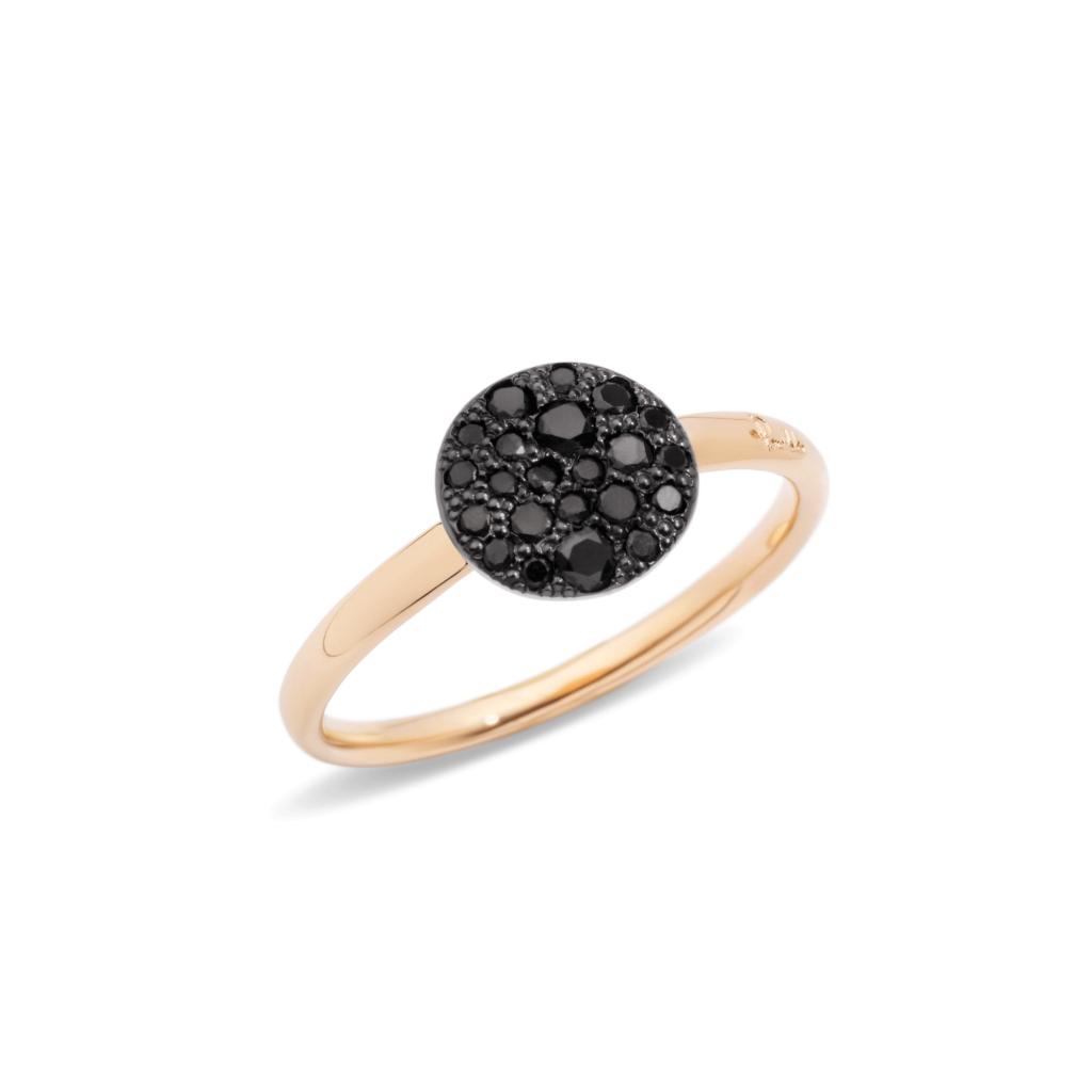 Pomellato – Ring Sabbia schwarz