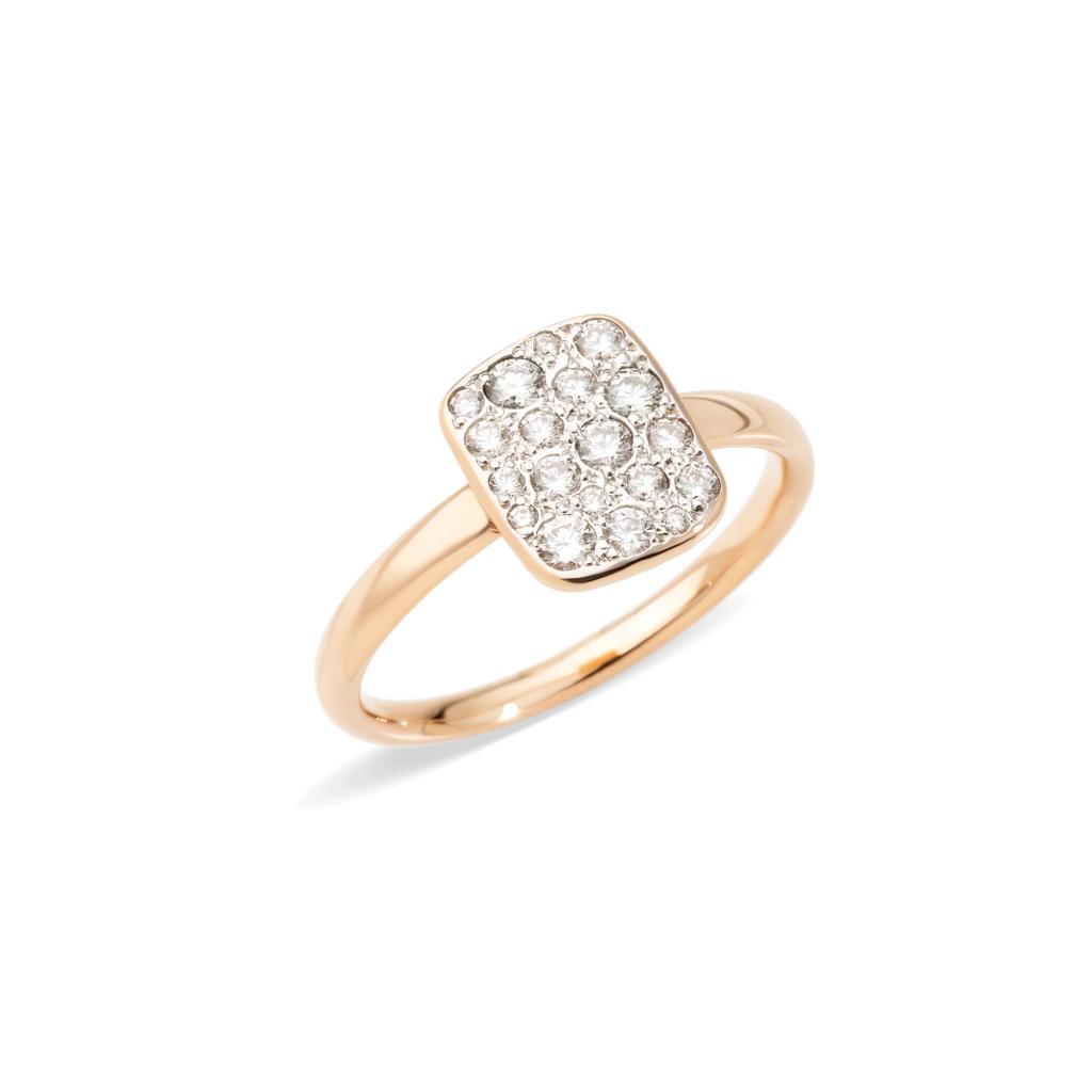 Pomellato – Ring Sabbia weiß