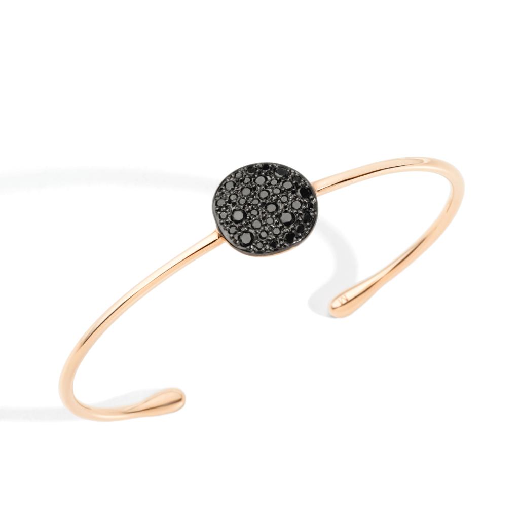 Pomellato – Armband Sabbia schwarz