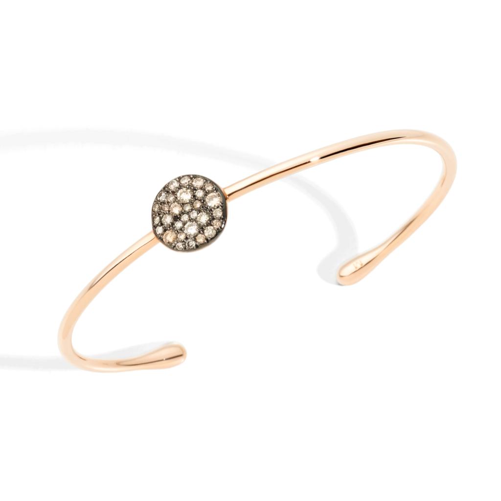 Pomellato – Armband Sabbia braun