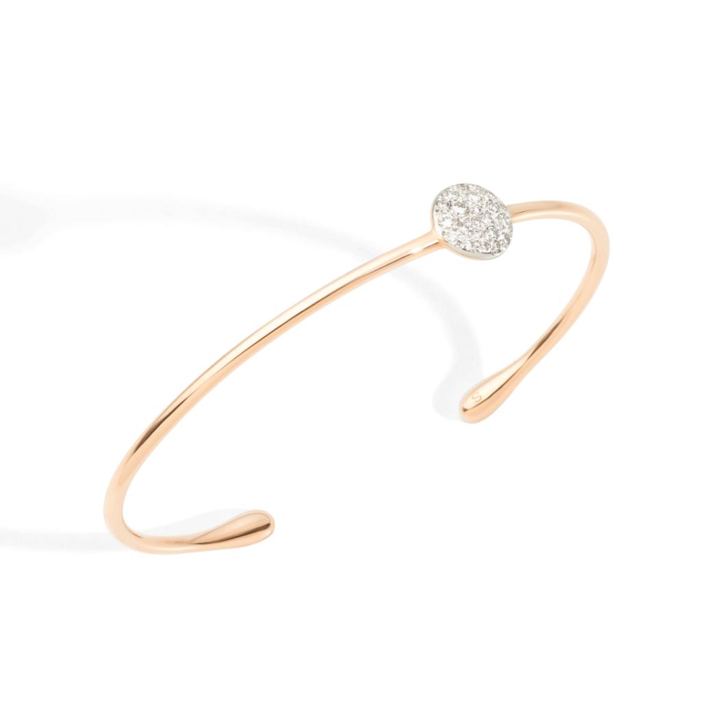 Pomellato – Armband Sabbia weiß