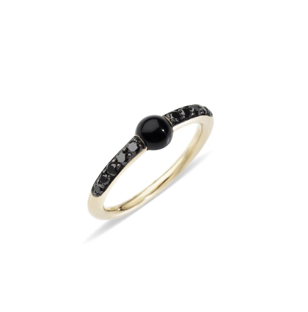 Pomellato – M'ama Non M'ama Ring mit Onyx