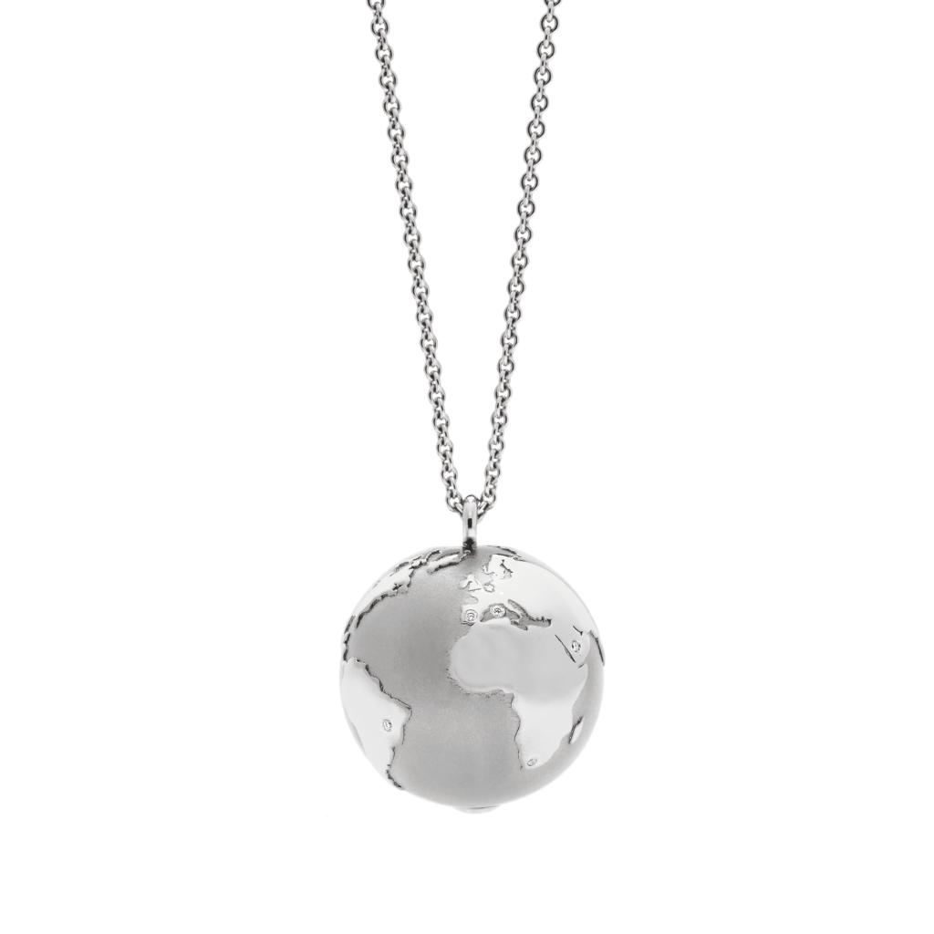 Schmuckwerk – Halskette Meine Welt Platin