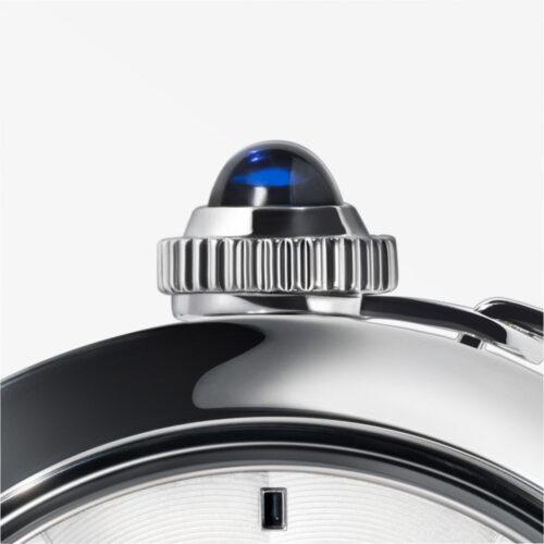 Pasha de Cartier bei Juwelier Jasper – Detail Saphir-Krone