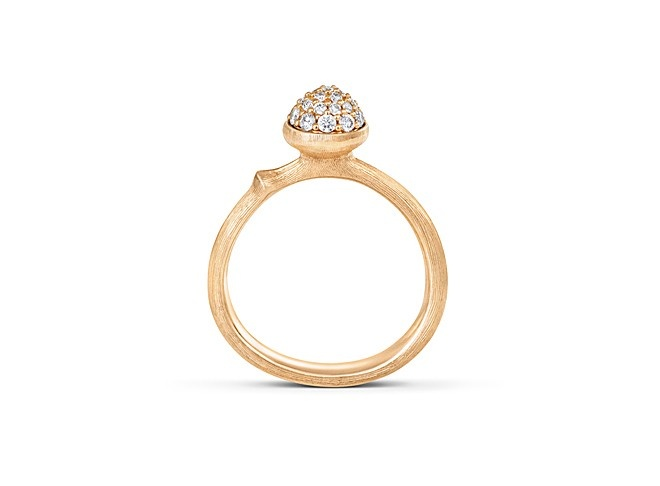 Ole Lynggaard – Lotus Ring mit Diamanten