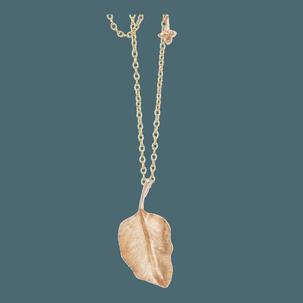Ole Lynggaard – Leaves Blatt Anhänger