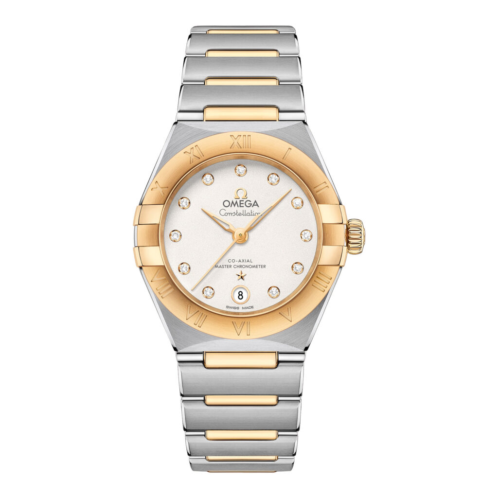 Omega-Constellation Manhatten Co-Axial Master Chronometer 29mm – gelbgold