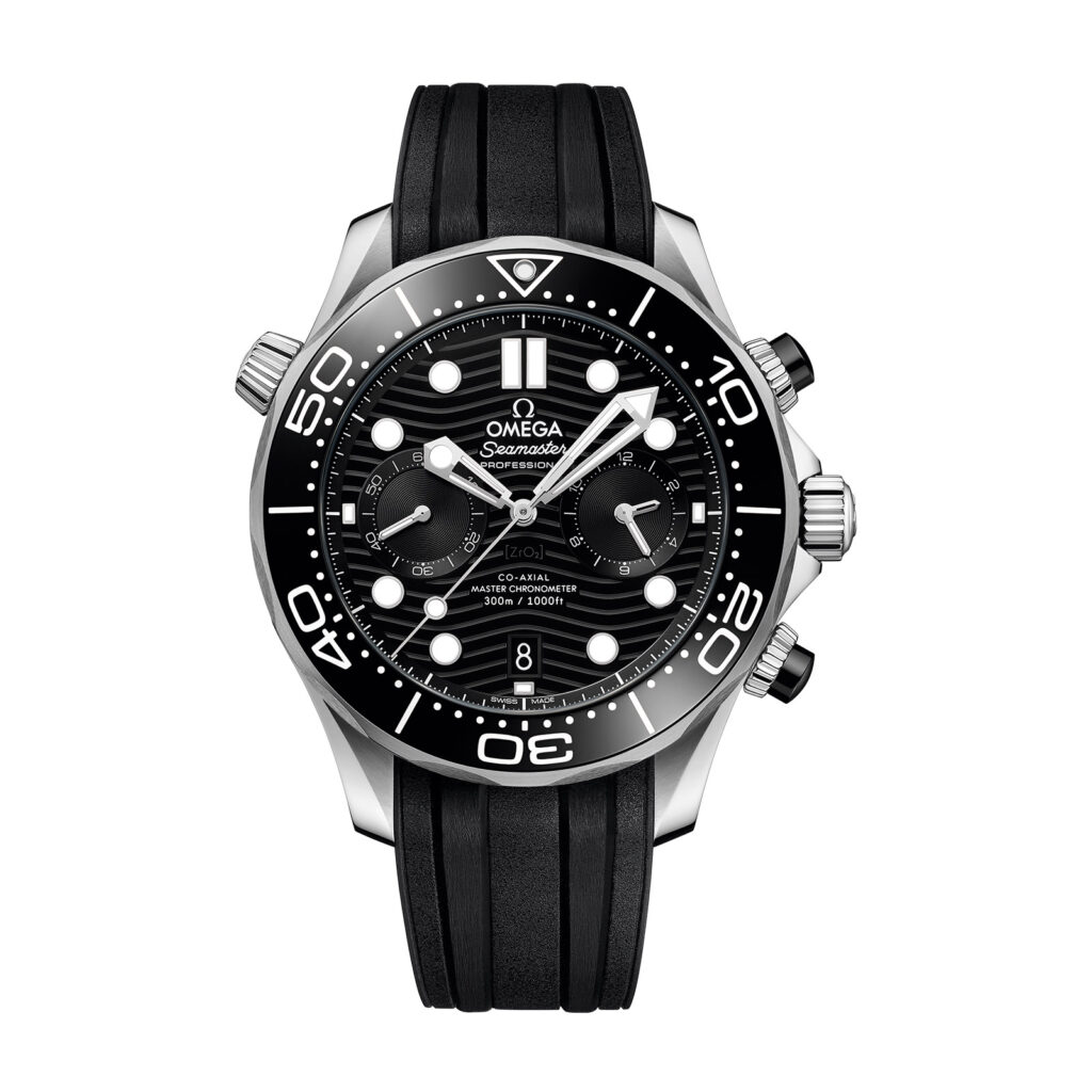 Omega-Seamaster Diver 300m Co-Axial Master Chronometer Chronograph 44mm