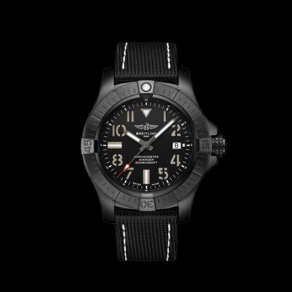 Breitling – Avenger II Seawolf 45 Stahl